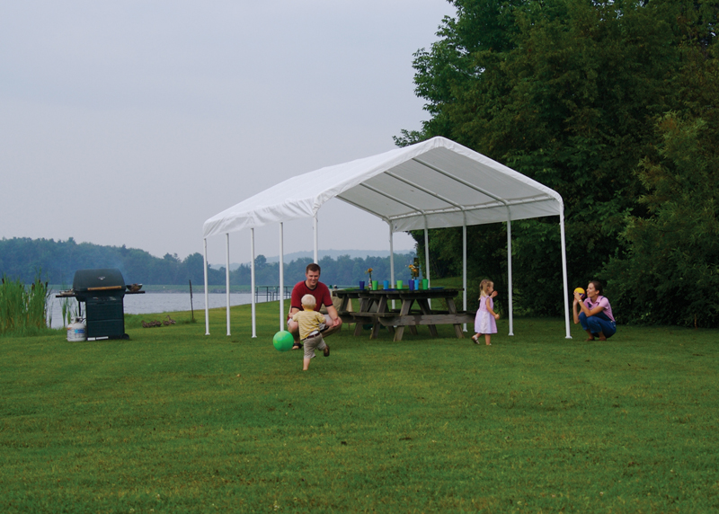 12 X 26 2 Commercial Valanced Canopy