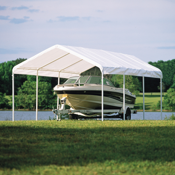 12 X 20 2 COMMERCIAL VALANCED CANOPY