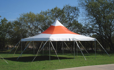 Mystique 30' X 30' High Peak Tension