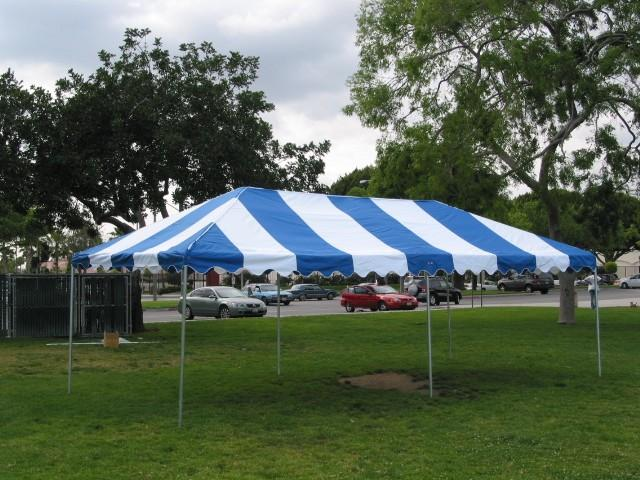Blue-white Luxury Party Tent