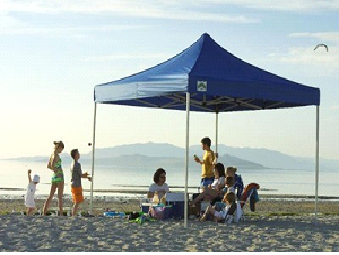 Pop-up Canopy for family Outing