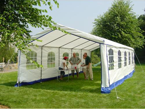enclosed party tent