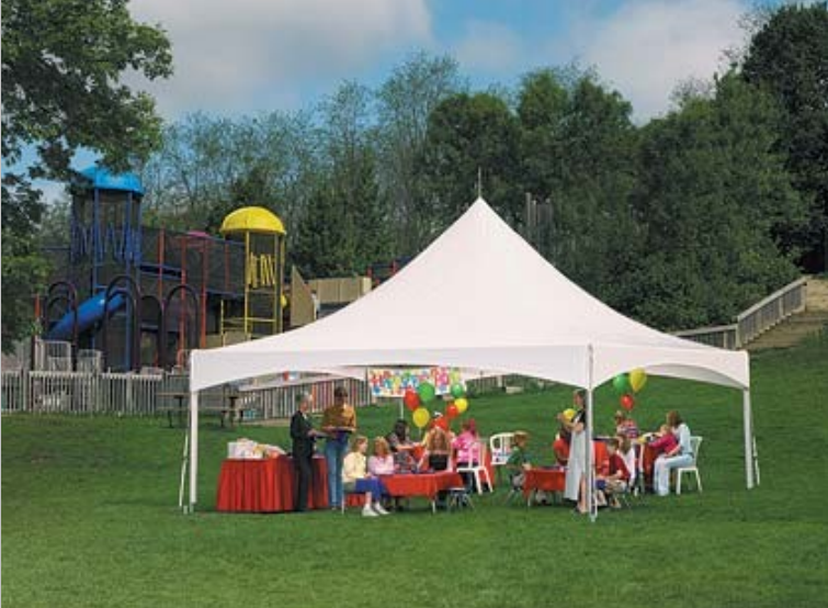 Advantages of using canopy party tent canopy for outdoor for Used craft fair tents