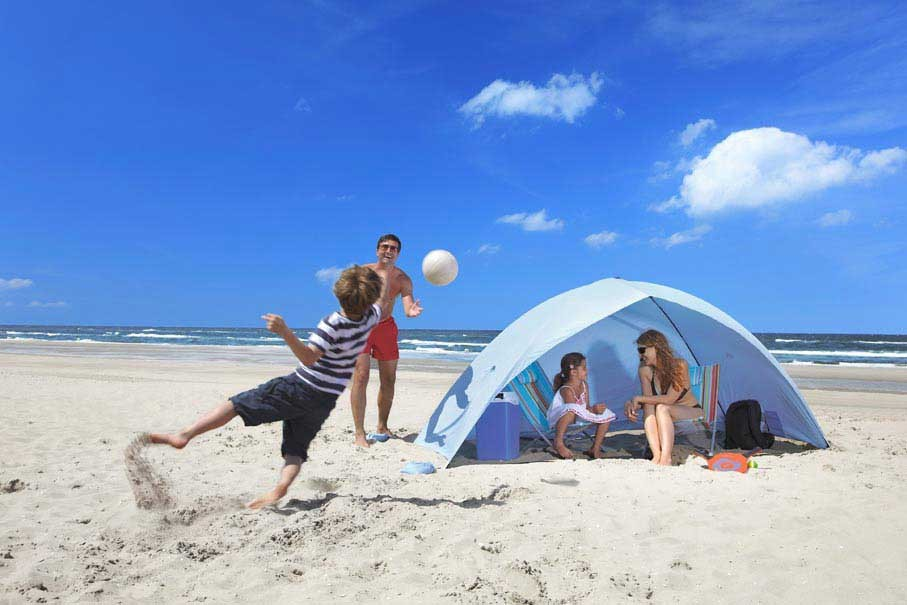 Beach canopy ideal for your family