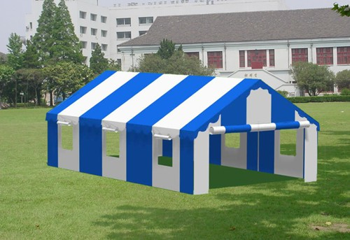 """Commercial Duty 18' X 30' / 1 5/8"""" Dia. Frame Luxury Enclosed Party Tent"""