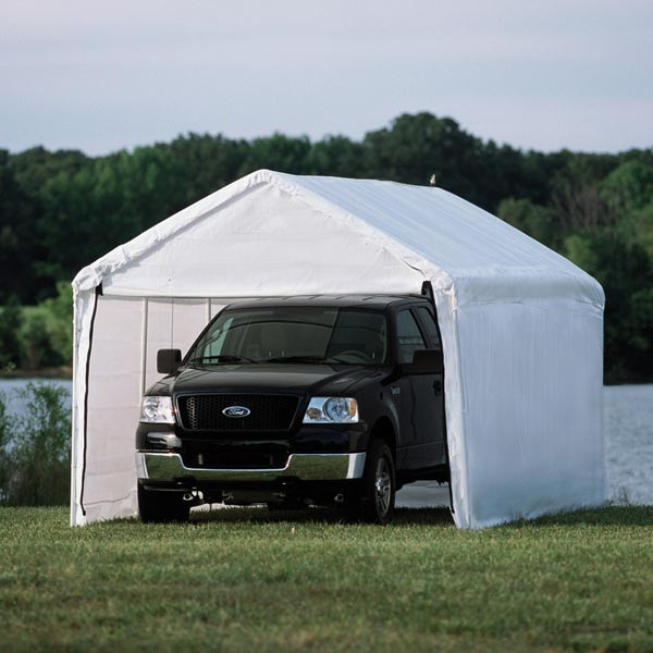 """10' X 20' / 1 3/8"""" Enclosed Canopy"""