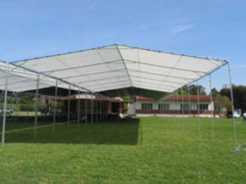 """30' X 100' / 2"""" Commercial Duty Outdoor Canopy"""