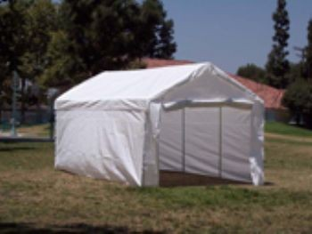 """18' X 40' / 1 5/8"""" Commercial Enclosed Canopy"""