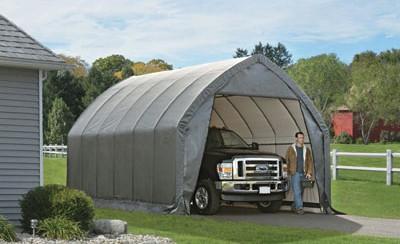 "13' X 20' X 12' / 1 5/8"" House Style Garage"