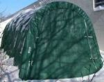 14ft Wide 10ft High Round Style  Replacement End Wall