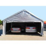 30 ft. Wide High Peak End Wall with Zipper:White