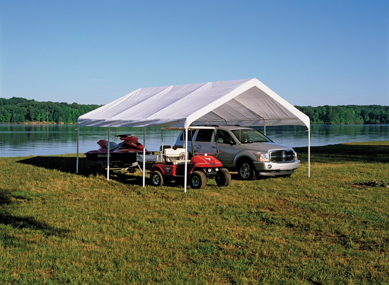 """18' X 20' / 2"""" Commercial Valanced Canopy"""