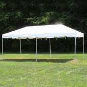 "Celina Commercial Duty 10' X 20' / 2"" Dia. Classic Frame Party Tent with Aluminum Poles"
