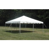 "Celina Commercial Duty 15' X 15' / 2"" Dia. Classic Frame Party Tent with Galvanized Poles"