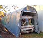 14' X 36' X 15' Round Style RV/Boat Garage