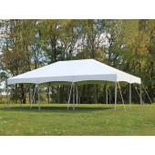 "Celina Commercial Duty 20' X 30' / 2"" Dia. Master Series Cinch Top Frame Tent with Galvanized Poles"