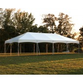 "Celina Commercial Duty 20' X 40' / 2"" Dia. Master Series Cinch Top Frame Tent with Galvanized Poles"