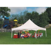"Eureka Vista 20' X 20' / 2"" Dia. Frame Peak-Top Party Tent"