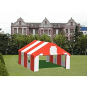 "Commercial Duty 18' X 20' / 1 5/8"" Dia. Frame Luxury Enclosed Party Tent"