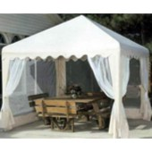 10ft X 10ft GARDEN PARTY CANOPY(ALMOND)