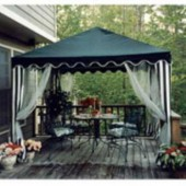 10ft X 10ft GARDEN PARTY CANOPY(GREEN)