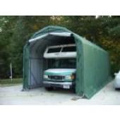 12' X 28' X 12' Barn Style Canopy