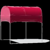 KD Barrel Top 10' X 10' Pop-Up Tent - 13 Color Choices