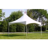 "Celina 20' X 20' Pinnacle / 2"" Dia. Frame Peak-Top Party Tent"
