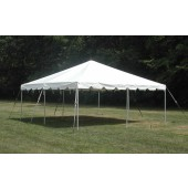 "Celina Commercial Duty 20' X 20' / 2"" Dia. Classic Frame Party Tent with Galvanized Steel Poles"