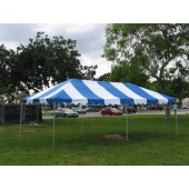 "Commercial Duty 10' X 20' / 1 5/8"" Dia. Frame Luxury Enclosed Event Party Tent"