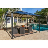 STC 10ft X 13ft Gazebo with Hard Top Roof