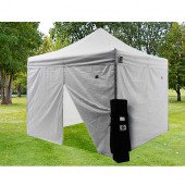 Impact 10' X 10' AOL with 4 Sidewalls Package Deal - White