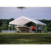 "12' X 30' / 2"" Commercial Valanced Canopy"