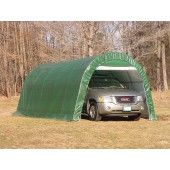12' X 20' X 8' Round Style One Car Garage