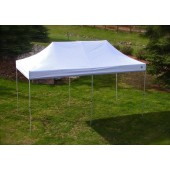 Undercover 10' X 20' Aluminium Pop-Up with White Top