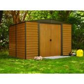 Woodridge Steel Storage Shed - 4 Sizes