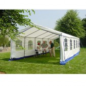 "Decorative Style 14' X 27' / 1 5/8"" Dia. Frame Enclosed Party Tent"